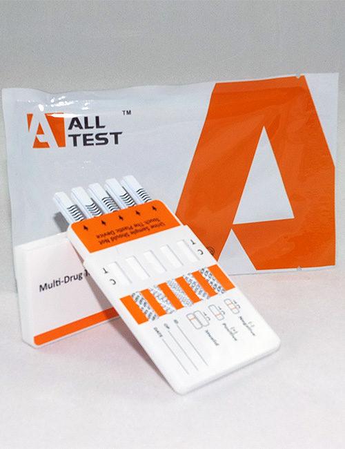 AllTEST 5 panel drug testing kit. DOA 154.