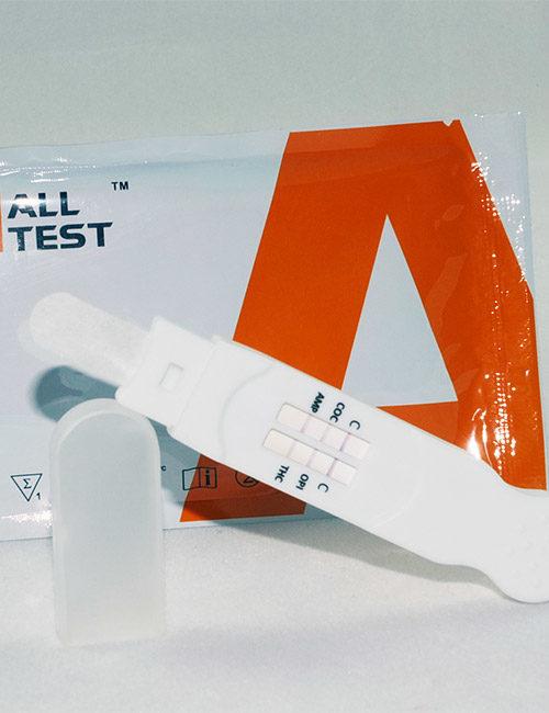 DSD863D 6 in 1 saliva direct drug testing kit.