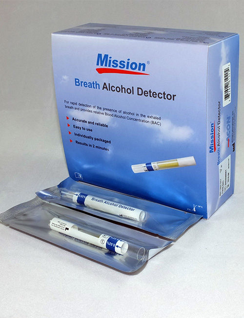 Mission Breath Alcohol Detectors.