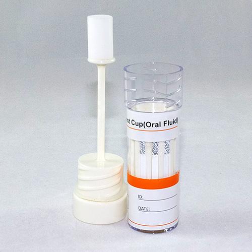 Saliva (oral fluid) testing.