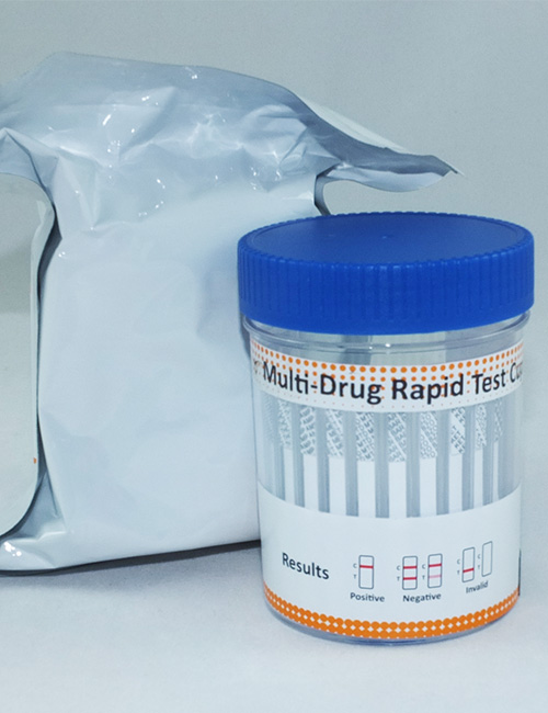 UKDT 12 in 1 Cup with adulteration and temperature strip.