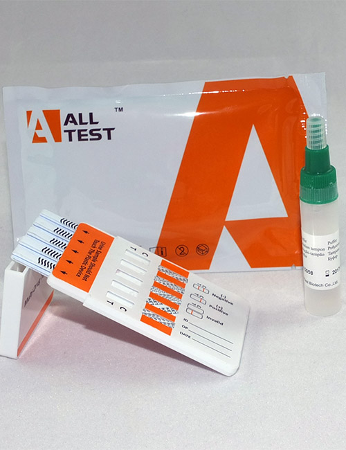 White powder & surface wipe 10 drug detection test.