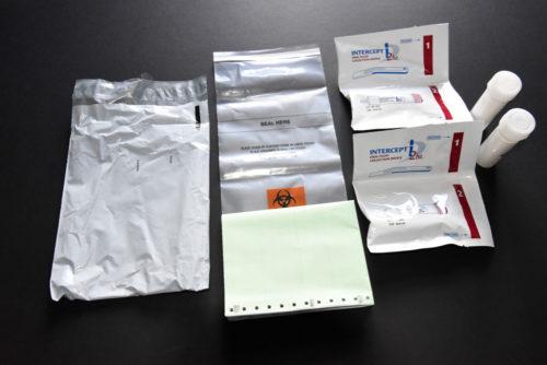 Saliva GC/MS Laboratory Screening Pack.