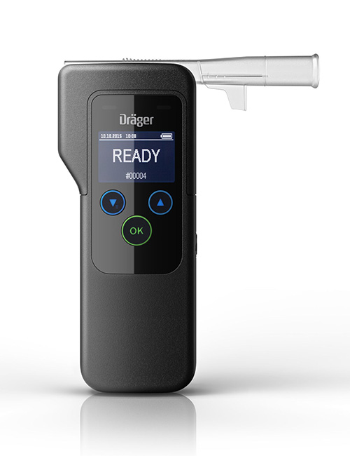 The Draeger Alcotest 5820 breathalyser.