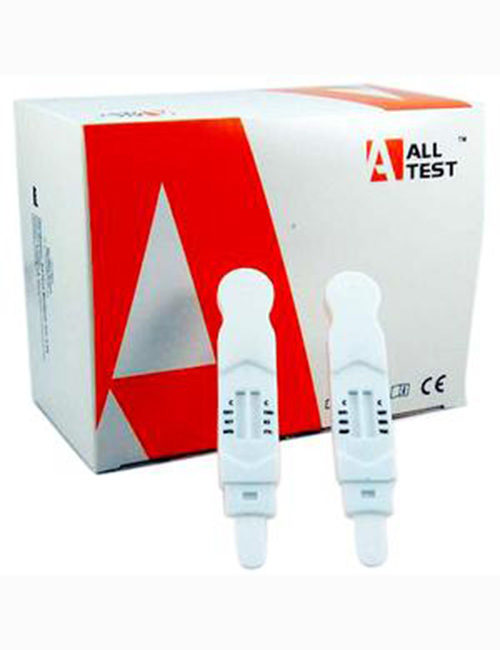 ALLTEST 6 + 6 in 1 saliva direct.