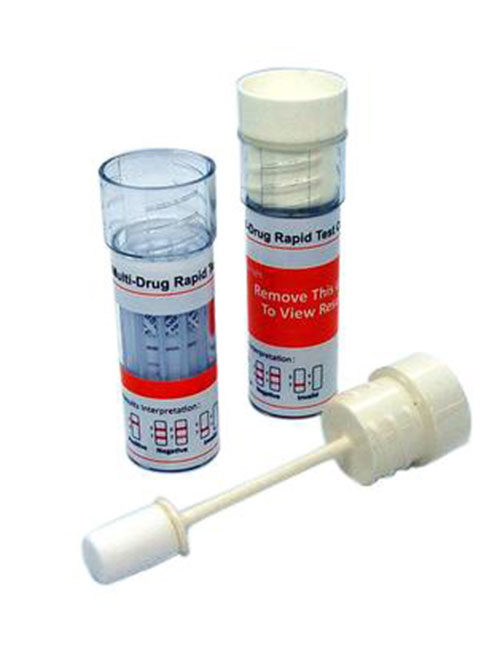 ALLTEST 6 Panel saliva drug test. DSD 867 MTD (Alcohol / methadone combination).