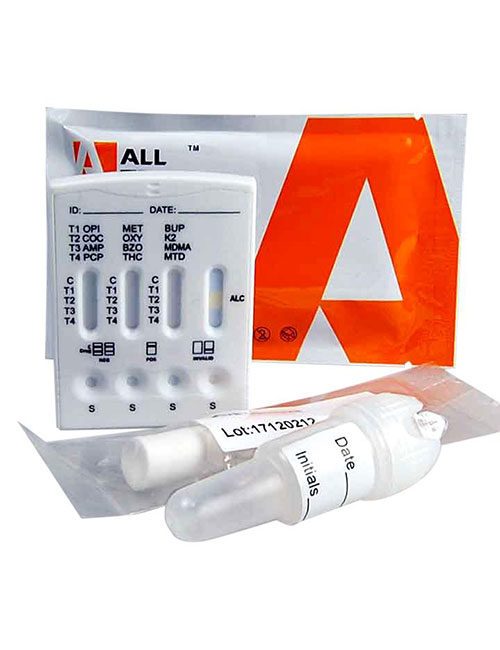 ALLTEST 13 Panel saliva drug test. 13 in 1 including alcohol. DSD 8135.
