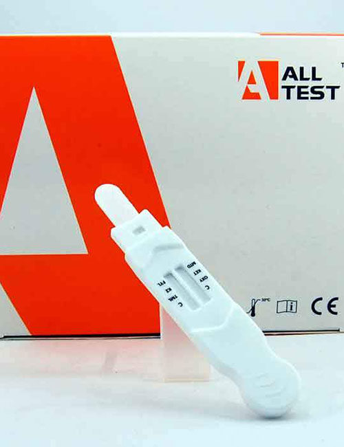 DSD 863 FYL (Fentanyl) 6 in 1 saliva direct drug testing kit.